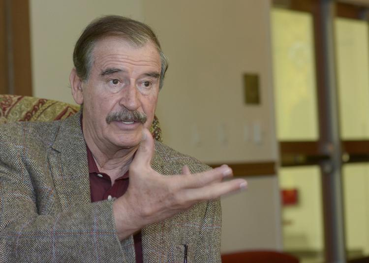 Former Mexican president Vicente Fox talks about expanding NAFTA.