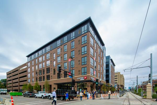 Opus sold this new student housing project near the University of Minnesota for about $31 million.