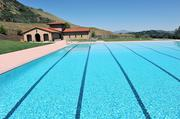 Orinda Wilder, a 245-unit luxury home development, started construction in 2012 and features amenities such as a club house and this expansive pool.