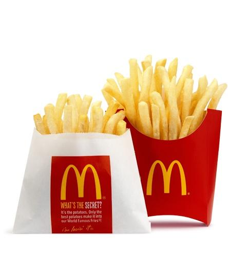 McDonald's is among the companies expected to release quarterly earnings tomorrow.