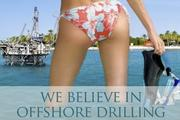 Well, there is an oil drilling platform in the background.