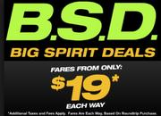 Bondage, submission and domination? Well, no, just Big Spirit Deals.