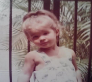 Kim Rothstein as a child, from photos submitted with her pre-sentencing memo.