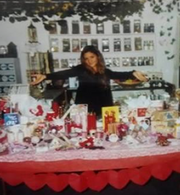 Kim Rothstein in a New Age shop owned by her mother, from photos submitted with her pre-sentencing memo.