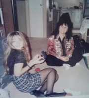 Kim Rothstein with her mother, from photos submitted with her pre-sentencing memo.