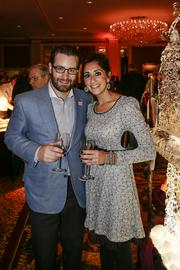 Trace Tendick, chairperson of the 2013 Vince Lombardi Food & Wine Experience and board member of the Vince Lombardi Cancer Foundation, with his wife, Katie Tendick