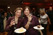 Laura Weber, a marketing consultant, and Lisa Stribel of Children's Hospital of Wisconsin