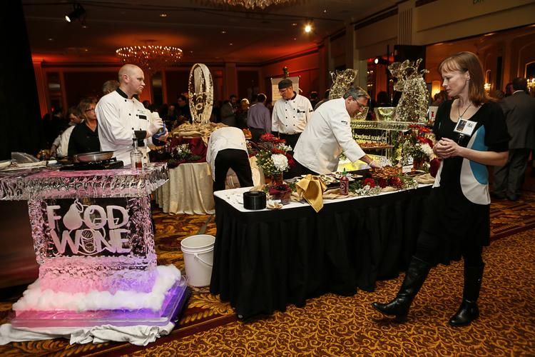 Food from several Milwaukee-area restaurants was featured at the event.