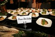 One of the many foods featured at the event