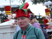 "I wouldn't be happy wearing that hat either, but the rules clearly state, ""you better not pout."""