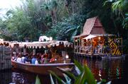 Take Adventureland's Jungle Cruise. Add some lights and corny holiday dialogue and you've got the Jingle Cruise.