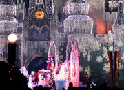 There's a show going on in front of the castle. But all I ever noticed was the castle.