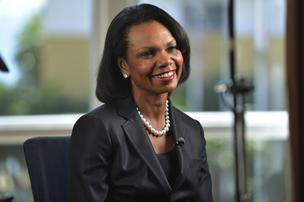 Condoleezza Rice, professor of political science at Stanford University and former secretary of state, takes a seat on the board of Dropbox.