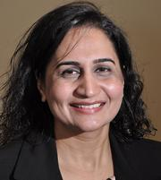 Harjit Earnest, 39, has been employed by KeyBank for 7 months. She is vice president and manager of the bank's Malta branch.
