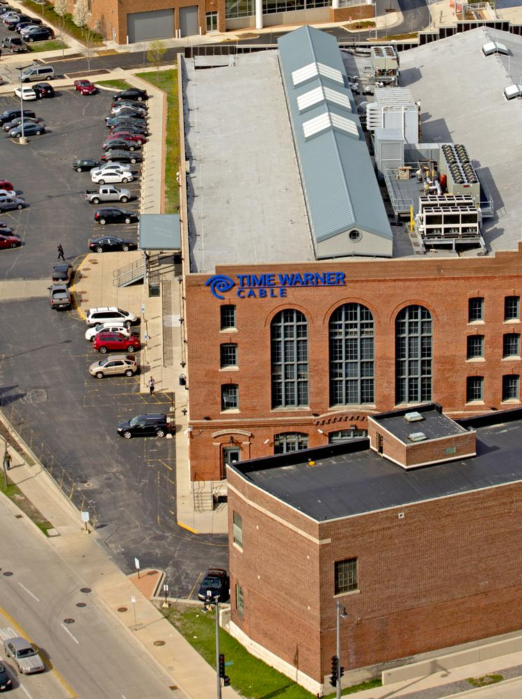 Time Warner Cable's offices in MIlwaukee