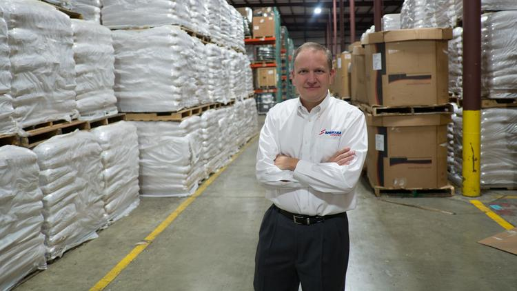 "Spartan Logistics President Steve Harmon says the ""whole Southeast will continue to be a great market for us."""