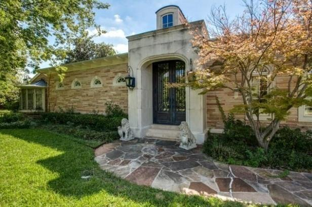 The Cottrell mansion in Old Preston Hollow sits on 2.21 acres. The property just landed on the market for $2.3 million.