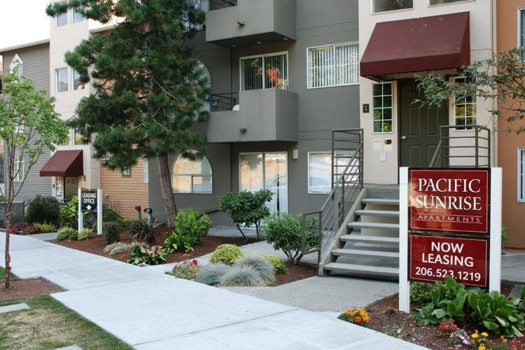 Pacific Sunrise Apartments in Seattle's University District is one of three properties that sold for a total of $48.5 million. Public records indicate that Bill Gates may be the buyer.