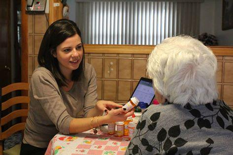Colleen Prinzivalli makes house calls to help patients take the right medications.