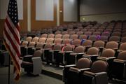 The campus also includes a 220-seat auditorium with stadium seating.