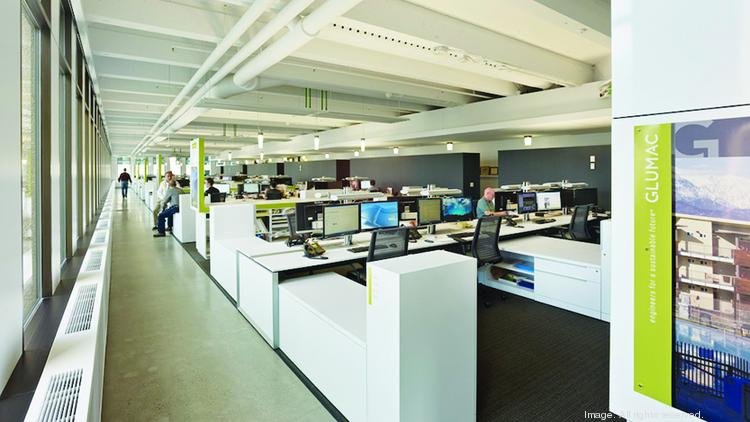 Open offices such as Glumac's headquarters at the Standard Insurance building foster creativity and collaboration. But how well do employees manage to avoid noise and other distractions. Glumac has an open office policy. What does your company do? Vote in our poll.