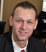 Frank Roylance, 31, is a licensed relationship manager for  Key Investment Services LLC in Delmar. He has worked for Key for 3 years