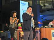 José Andrés seemed to take up the good guy and bad guy host in Anthony Bourdain's absence, giving judges and contestants alike a good natured hard time throughout the competition.