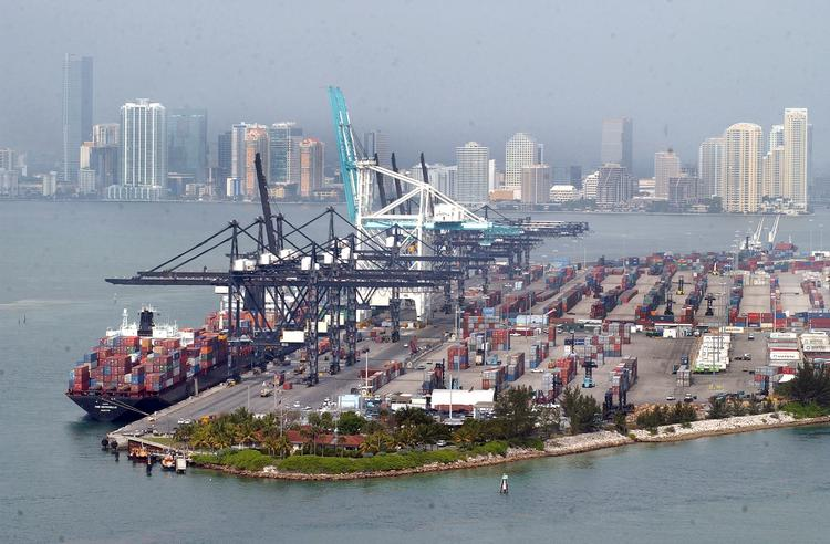 Port of Miami is getting money to help with dredging.