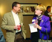 Dan Wald of Brunner and  Maggie Jayson of Remax Select Realty.