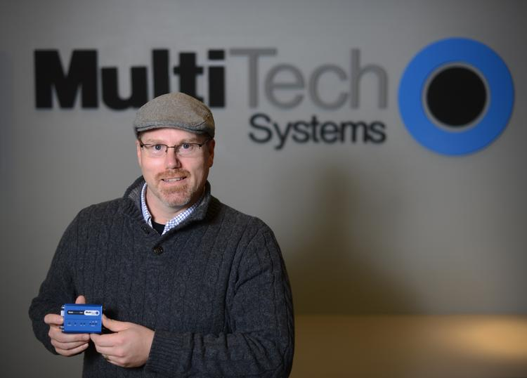 Rodney Landers is the new CEO of Multi-Tech Systems Inc, which makes products that allow devices to communicate with one another.