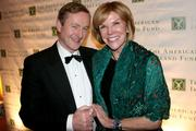 Enda Kenny, Ireland's prime minister, left, and Susan Brophy, managing director of legislative affairs at Glover Park Group, attend American Ireland Fund's 21st annual gala at the National Building Museum on March 18. The event raises money and awareness for a variety of Irish charities and cultural institutions as part of the Ireland Funds.