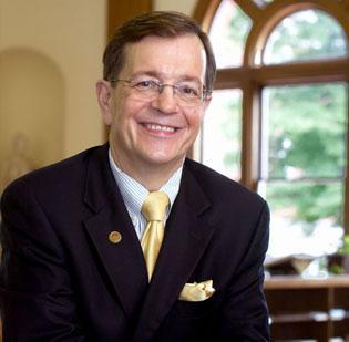 Kent Chabotar, president of Guilford College