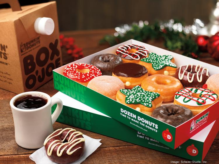 Dunkin' Donuts' newest Houston-area store will open just as the holiday season gets into full swing.