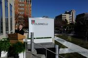 Polsinelli PC opened its much anticipated Plaza Vista headquarters during a Tuesday, Nov. 12 ceremony attended by Mayor Sly James and other local community leaders.