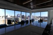 Conference rooms at Polsinelli's new Plaza Vista headquarters all boast scenic views of the Country Club Plaza.