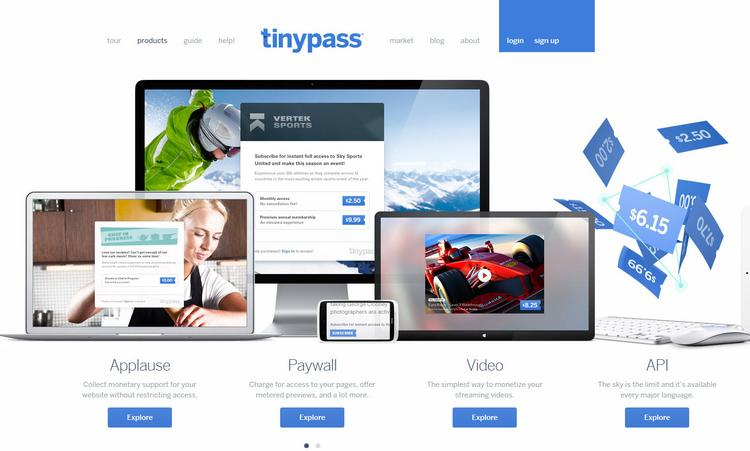 Tinypass makes a free-to-set-up platform that lets site owners supplement their advertising revenue by charging for premium content.