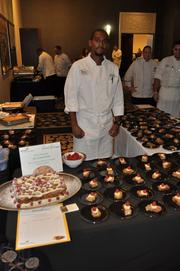Chef Ahmed El from the Brio Tuscan Grille