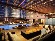 The complex also will have an outdoor pool and fire pit.