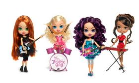 The Beatrix Girls, a new doll brand that is being sold in Toys