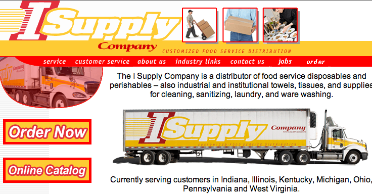 Fast food giant Rally's awarded its award for distribution center of the year to Fairborn-based I Supply Company.