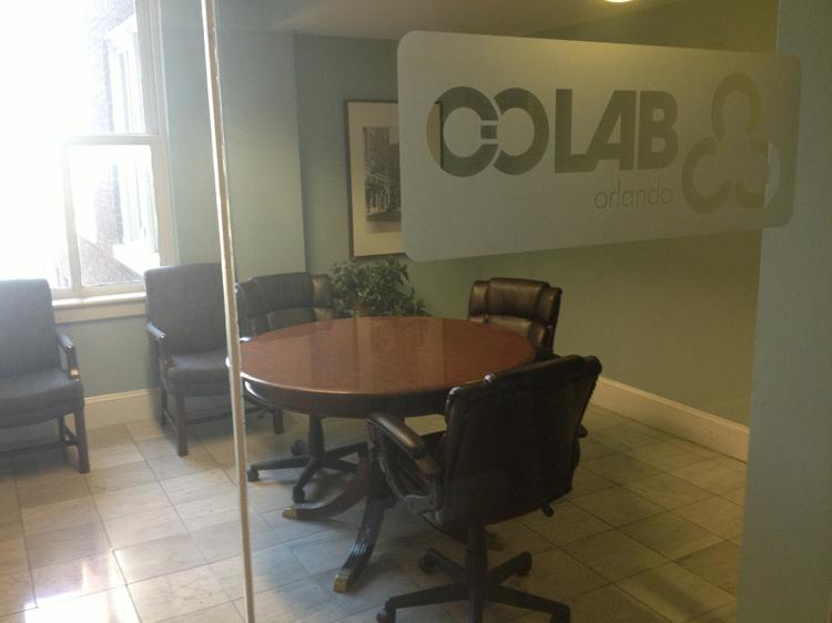 CoLab Orlando allows young, tech-savvy professionals to rent essentially a room to run their operations out of.