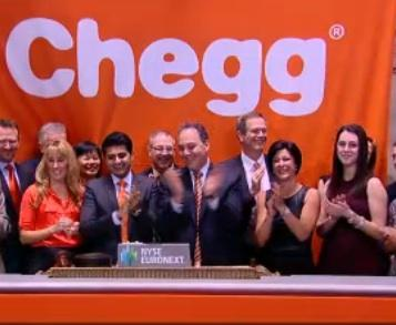 Chegg stock stumbles after IPO tops targets - Silicon Valley ...