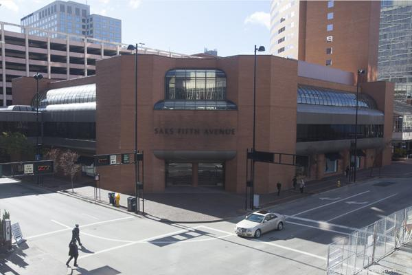 Saks has been at Fifth and Race since 1983.