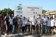 Broward Bank of Commerce staff participated in a Habitat for Humanity event this year.