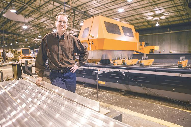 Kevin Blake, American Douglas Metals general manager, said his company used sales tax breaks from the Erie County Industrial Development Agency to help finance its expansion on Bud-Mill Drive in Buffalo.