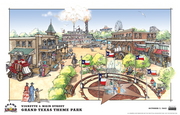 Grand Texas theme park will be situated on 150 acres in New Caney, which is northeast of Houston.