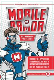 New MobileComm marketing materials by James Dean at US Logo illustrate the company's services in comic book form.
