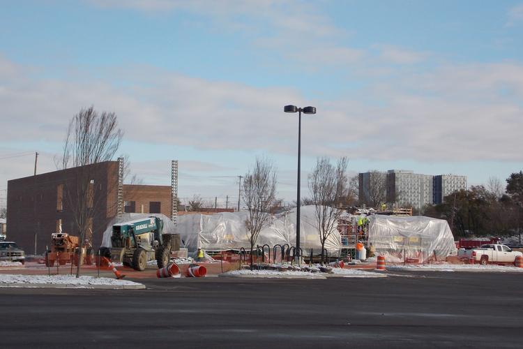 Giant Eagle has started construction on its latest store at 840 W. Third Ave. at Grandview Yard.