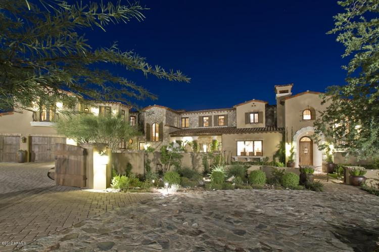 This $4.725 million Scottsdale mansion was the most expensive Phoenix-area home sale recorded in October.