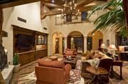 The main living room of the $4.725 million mansion.